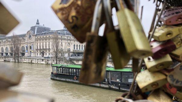 Musée d'Orsay. Fermeture du musée et la crue de la Seine. - Sputnik France