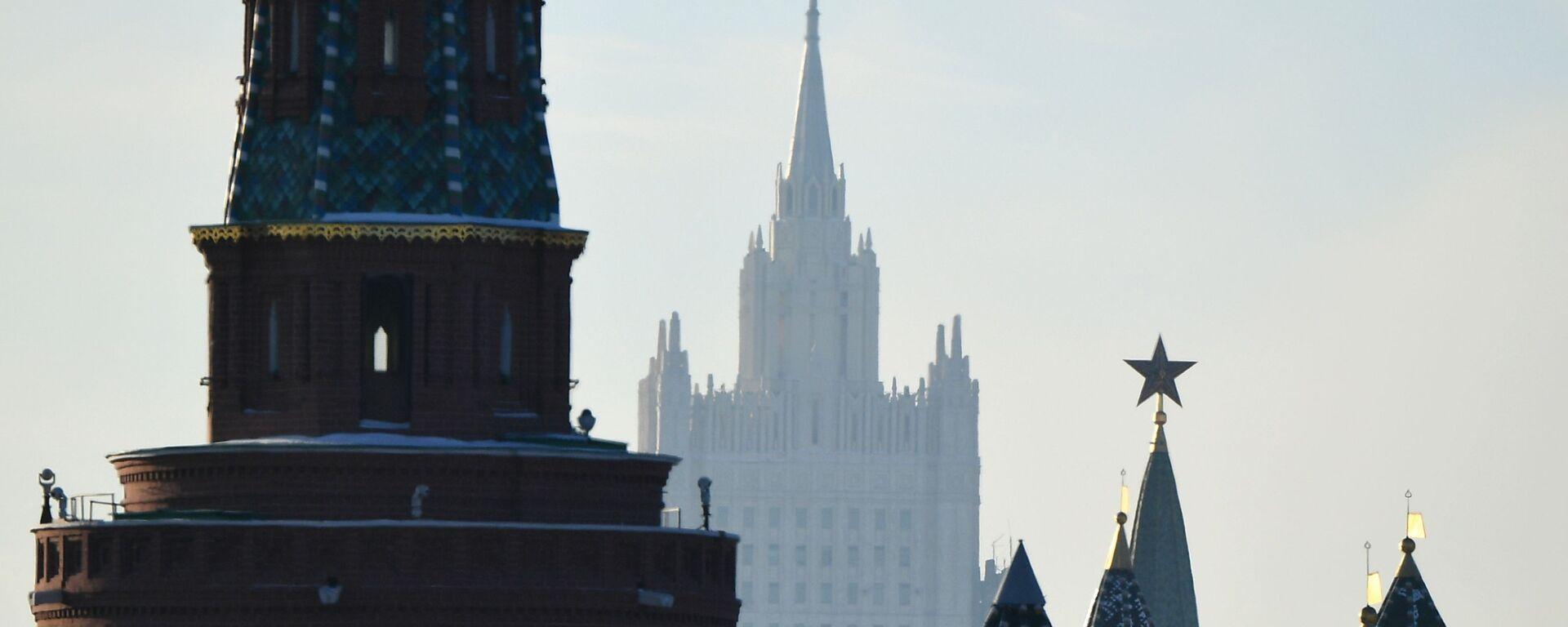 Le Kremlin et le ministère russe des Affaires étrangères (archive photo) - Sputnik France, 1920, 01.03.2021