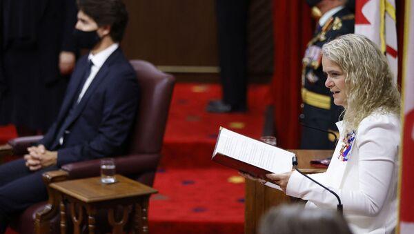 La gouverneure du Canada Julie Payette - Sputnik France