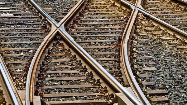 train gare rails - Sputnik France