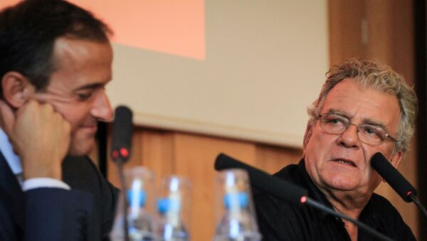 Olivier Duhamel et Frédéric Mion, directeur de Sciences Po - Sputnik France