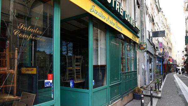 Café fermé à cause des mesures restrictives à Paris - Sputnik France