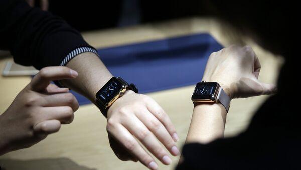 Présentation des Apple Watch en mars 2015 - Sputnik France