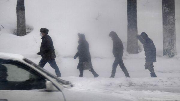 Les passants à Vladivostok (photo d'archives) - Sputnik France