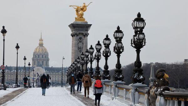 Paris, France, le 10 février 2021 - Sputnik France