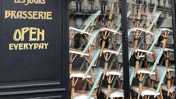 Un restaurant fermé à Paris - Sputnik France
