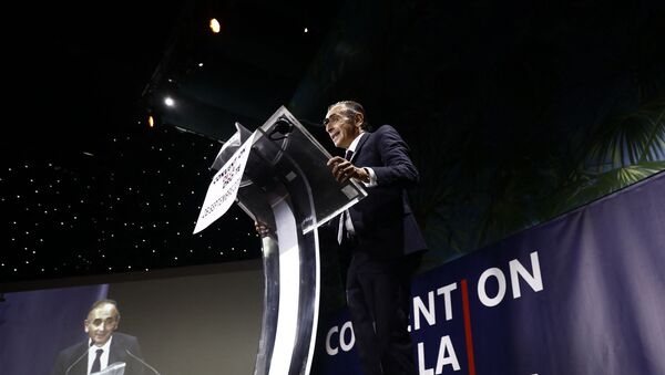 Éric Zemmour lors de la Convention de la Droite à Paris le 28 septembre 2019 - Sputnik France