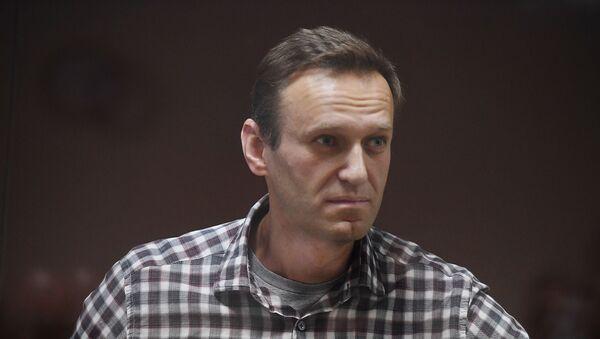 Alexeï Navalny lors d'un procès à Moscou - Sputnik France