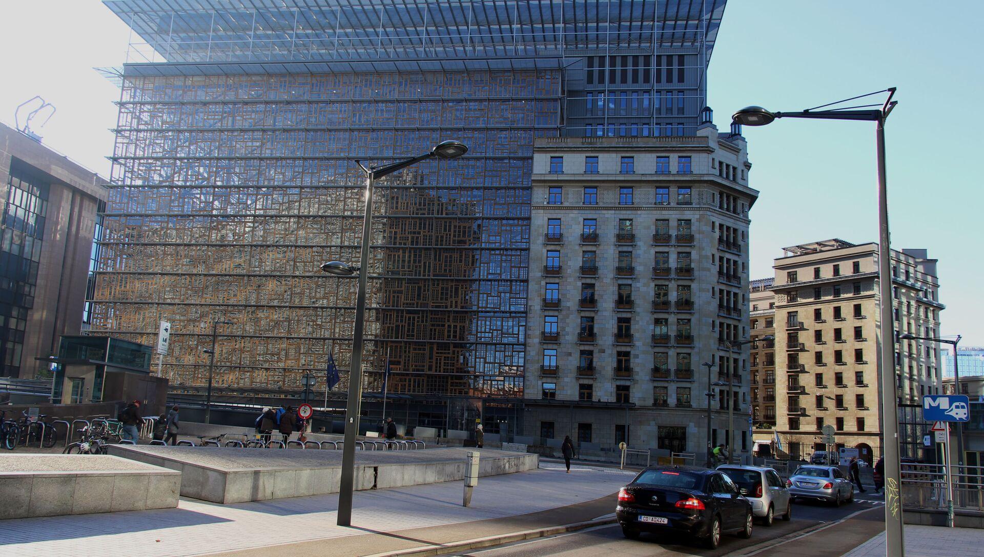 Le bâtiment Europa à Bruxelles (archive photo) - Sputnik France, 1920, 12.08.2021