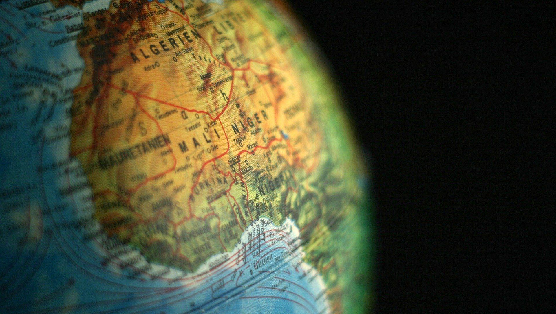 Le Niger sur la carte - Sputnik France, 1920, 10.08.2021