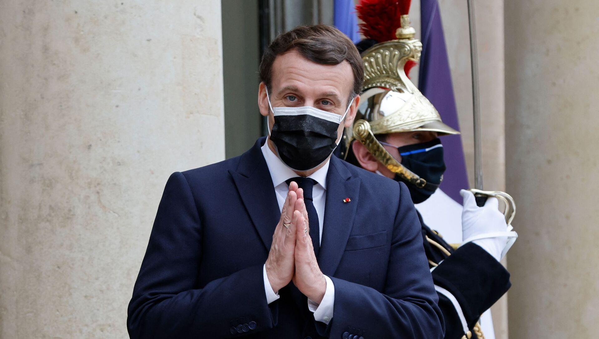 Emmanuel Macron - Sputnik France, 1920, 08.03.2021
