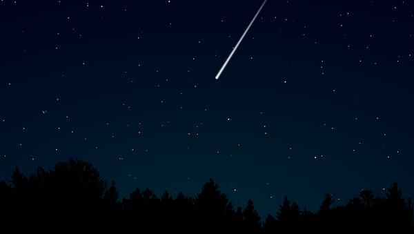 Un météore, image d'illustration - Sputnik France