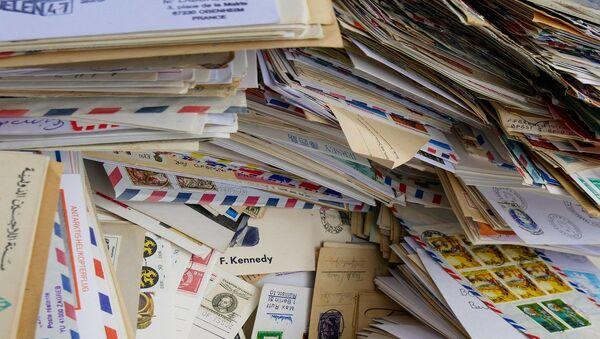 Des courriers - Sputnik France