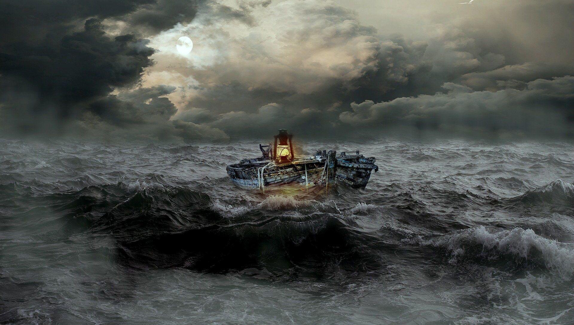 Bateau dans la tempête - Sputnik France, 1920, 25.02.2021