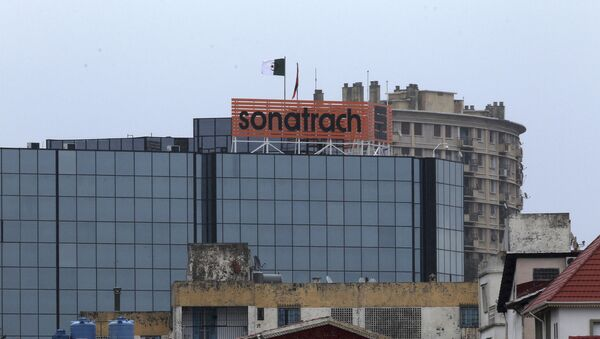 Le logo de la Sonatrach à Alger - Sputnik France