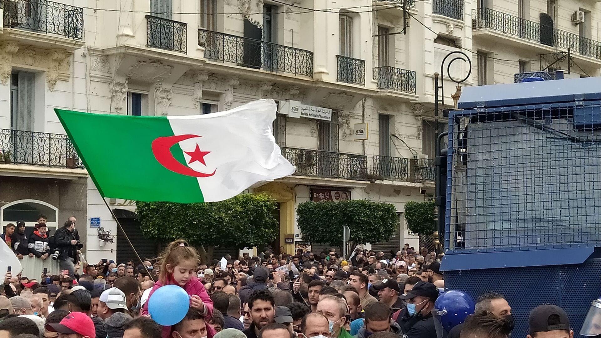 Reprise des marches pacifiques du Hirak à Alger. - Sputnik France, 1920, 13.04.2021