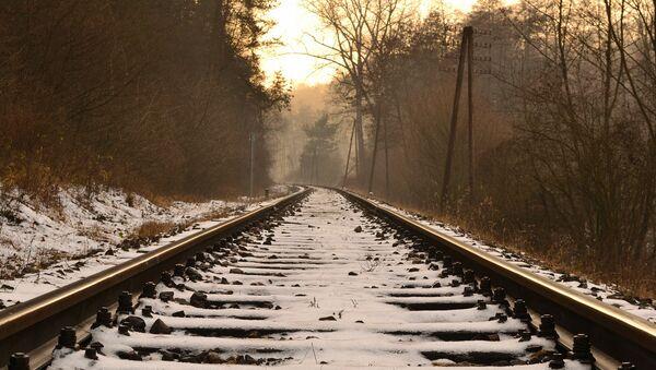 Des rails sous la neige - Sputnik France