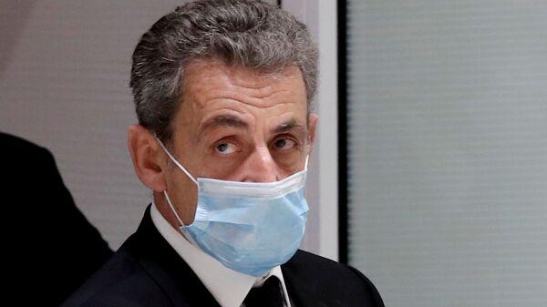 L'ex-Président français Nicolas Sarkozy au tribunal, le 1 mars 2021 - Sputnik France