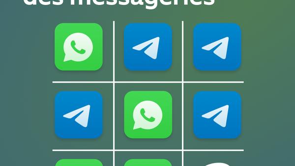 WhatsApp contre Telegram, la bataille de deux géants de la messagerie - Sputnik France