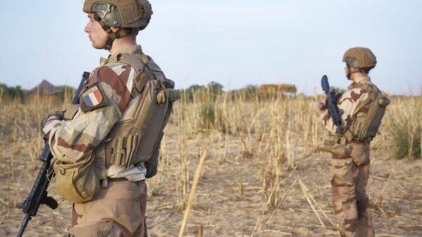 Les soldats de l'armée française faisant partie de l'Opération Barkhane - Sputnik France