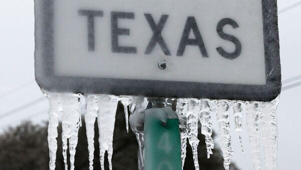 Vague de froid au Texas, février 2021  - Sputnik France