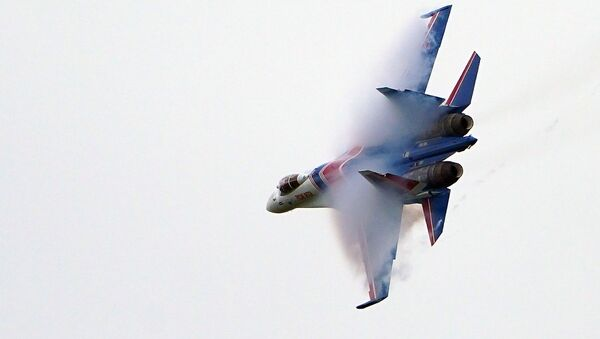 Un chasseur russe Su-35 - Sputnik France