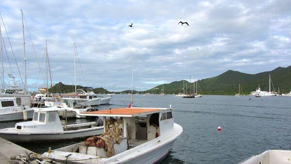 Le lagon de Simpson Bay à Saint-Martin (archive photo) - Sputnik France