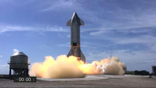 Le prototype Starship de SpaceX - Sputnik France