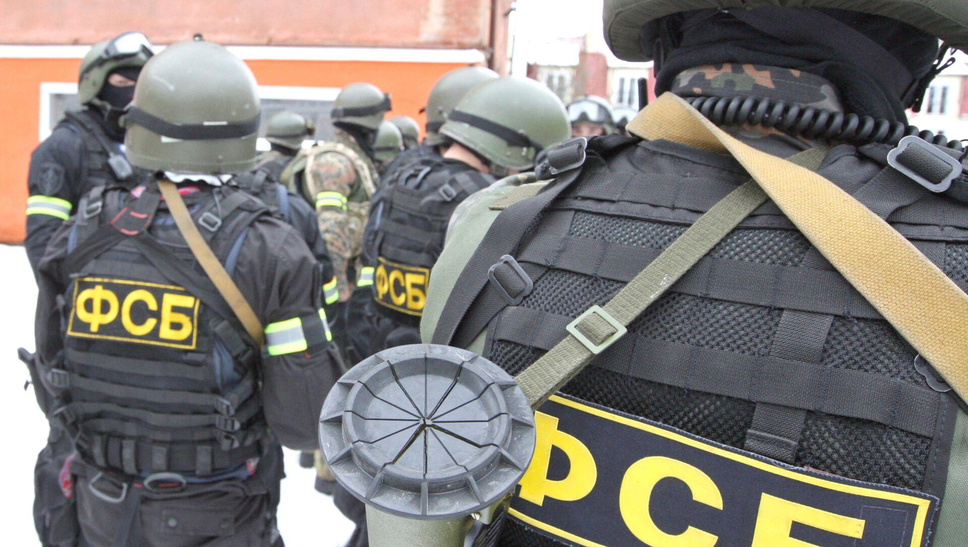 Des agents du Service fédéral de sécurité de Russie à Kaliningrad / image d'illustration - Sputnik France, 1920, 04.03.2021