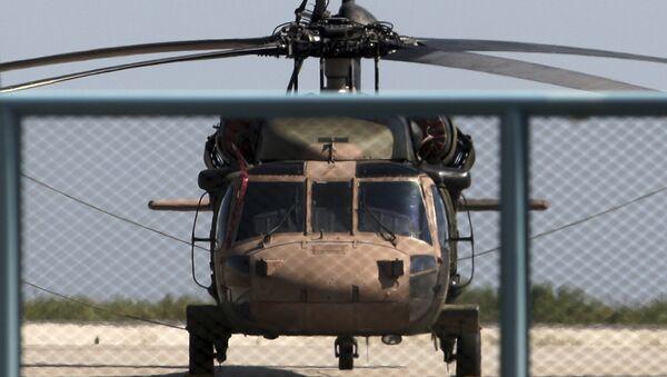 un hélicoptère militaire turc (image d'illustration)  - Sputnik France