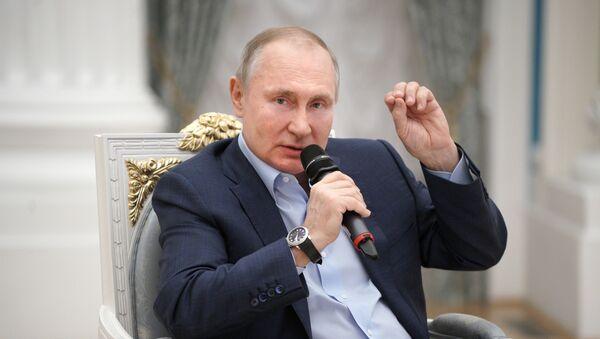 Vladimir Poutine - Sputnik France