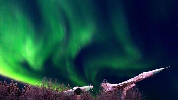 L'aurore boréale à Mourmansk - Sputnik France