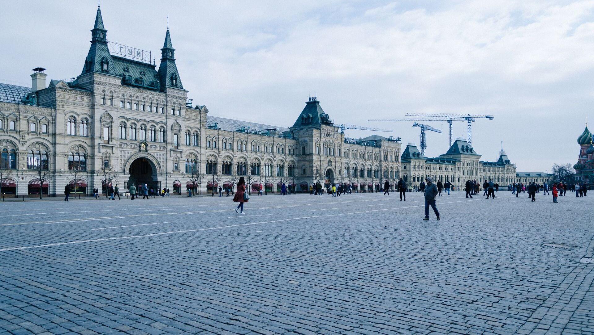 Sur la place Rouge à Moscou - Sputnik France, 1920, 03.04.2021