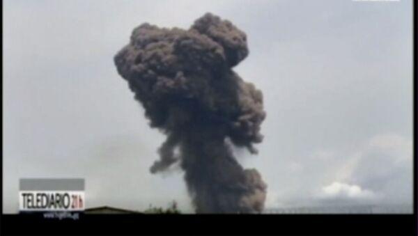 Explosion à Bata, le 7 mars 2021 - Sputnik France