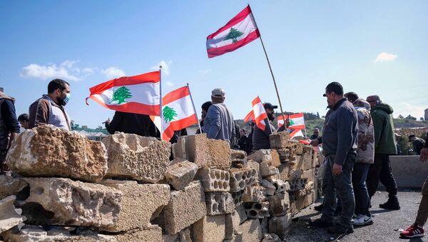 Blocage des routes au Liban - Sputnik France