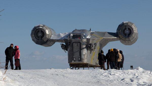 Une réplique du Razor Crest en Sibérie  - Sputnik France