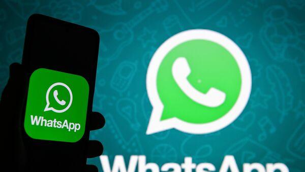 Logo de WhatsApp. - Sputnik France