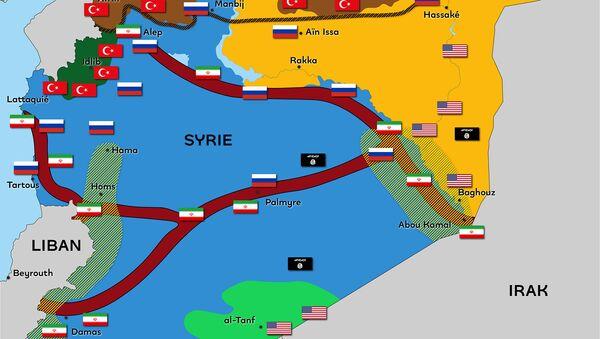 Syrie : un territoire fragmenté par de nombreuses puissances - Sputnik France