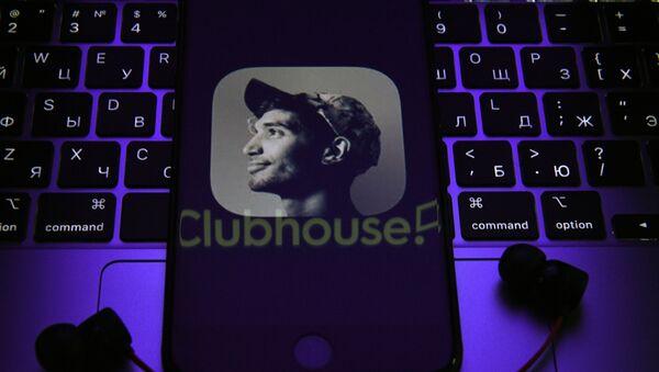 Application Clubhouse sur le smartphone - Sputnik France