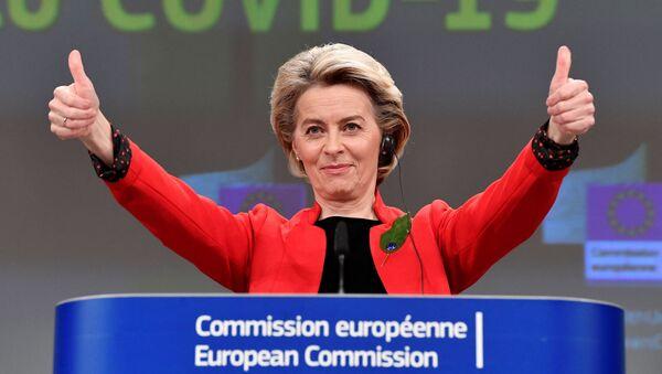 La présidente de la Commission européenne, Ursula von der Leyen - Sputnik France