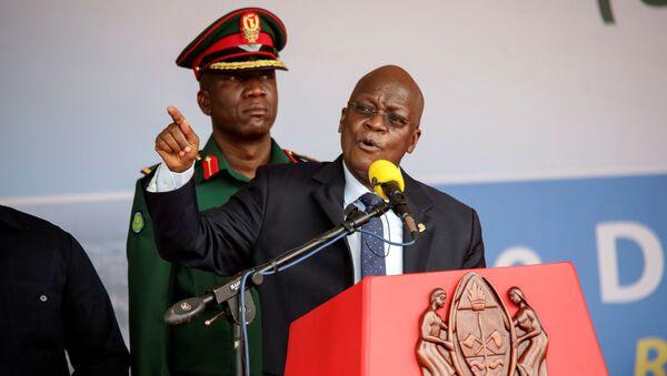 Le Président tanzanien, John Magufuli - Sputnik France