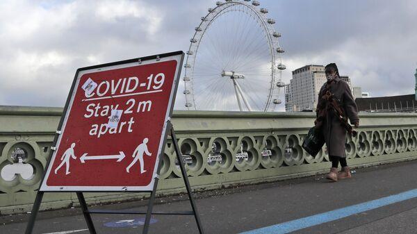 Londres pendant le deuxième confinement anti-Covid (archive photo) - Sputnik France
