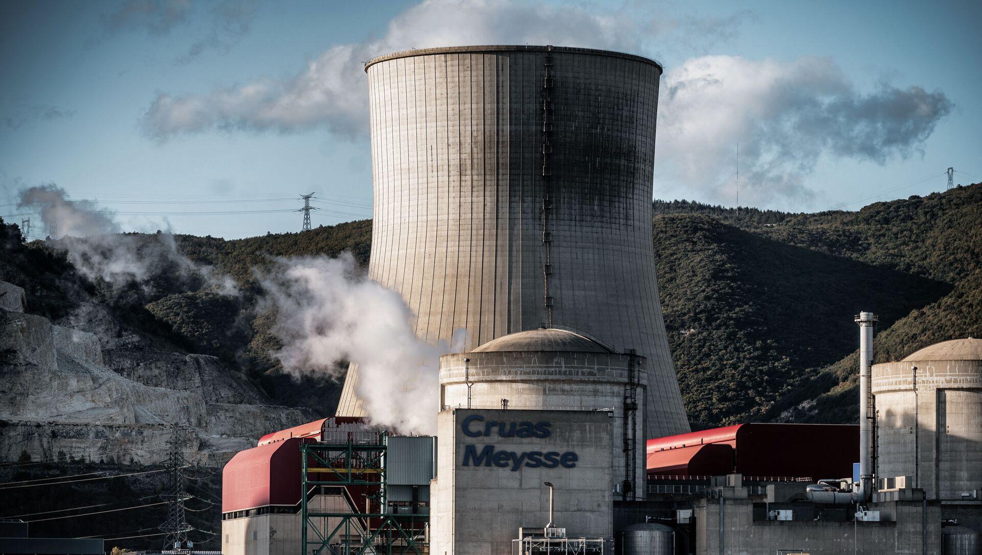 Centrale nucléaire de Cruas-Meysse  - Sputnik France, 1920, 01.08.2021