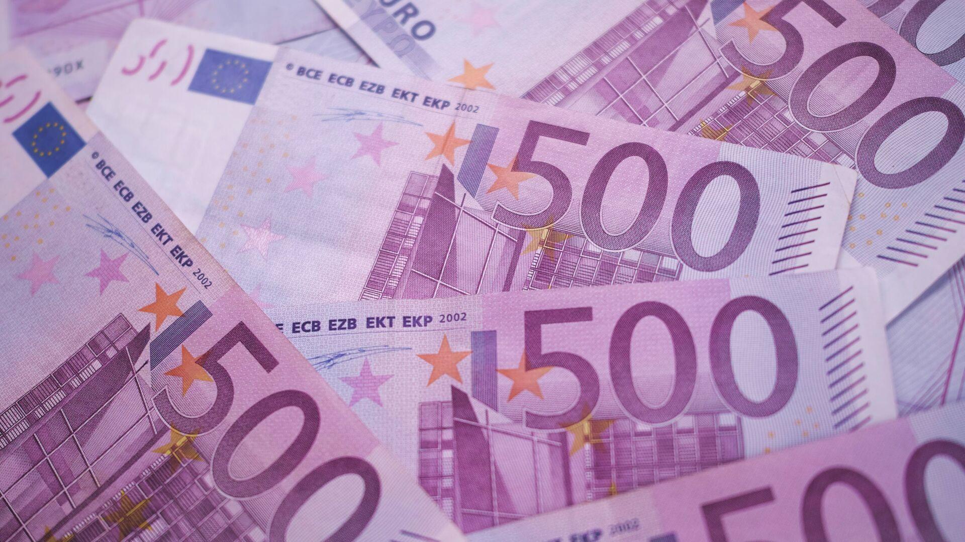 Des billets de 500 euros - Sputnik France, 1920, 06.09.2021