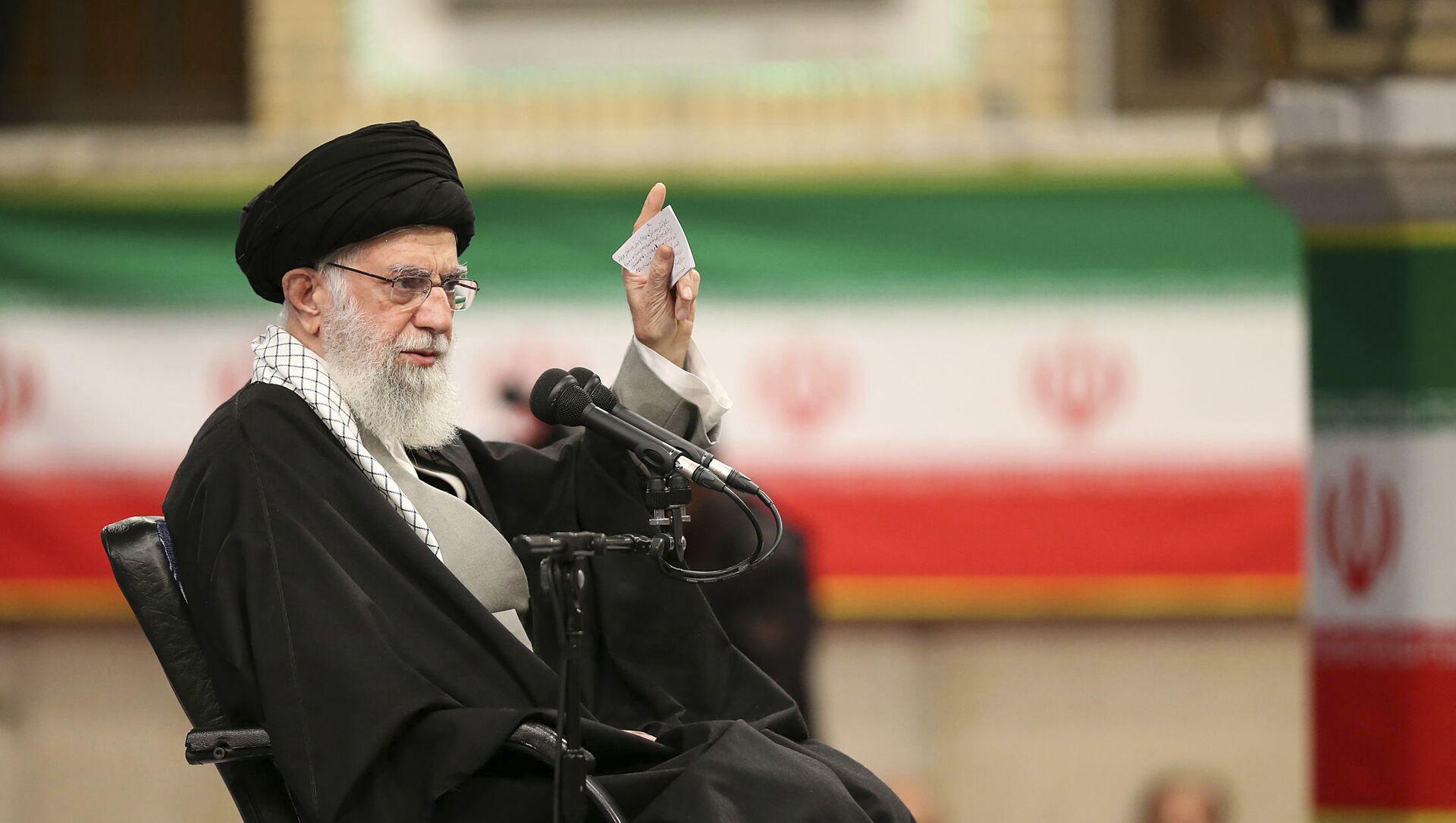 l'ayatollah Ali Khamenei - Sputnik France, 1920, 21.03.2021