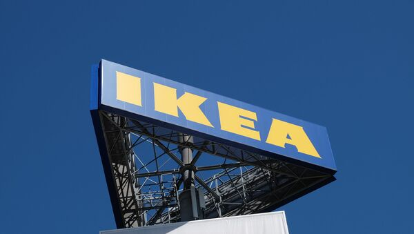 IKEA billboard - Sputnik France