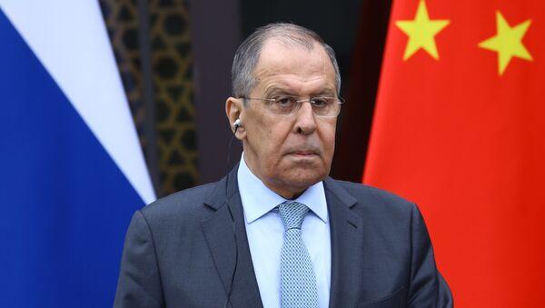 Visite de Sergueï Lavrov en Chine - Sputnik France
