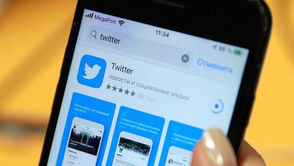 Twitter en Russie, image d'illustration - Sputnik France