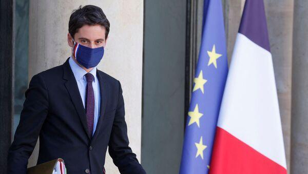 Gabriel Attal, porte-parole du gouvernement français - Sputnik France