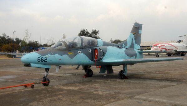 Un chasseur K8 Karakorum de la Force aérienne bolivienne (archive photo) - Sputnik France